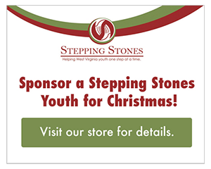Sponsor a Stepping Stones Youth for Christmas! Visit our store for details.